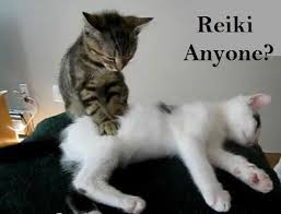 """Reiki anyone?"""